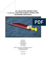 Design of an Fpso for Offshore Indonesia