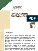 Fundamentos de Ergonomia