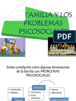 Familia y Problemas Psicosocilaes Ppt