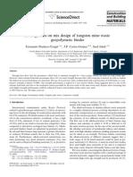 [9] 2008 Pacheco Torgal F., Castro-Gomes J. P. & Jalali S