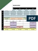Muslikhun Schedule