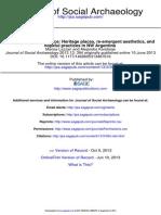 Journal of Social Archaeology 2013 Lazzari 394 419