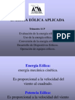 EEA11P 01 09May Introducción Tecnología Eólica