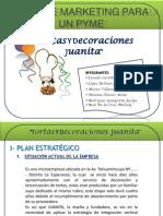 Plan de Marketing Para Un Pyme