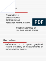 Abhi Ppt on Recorders