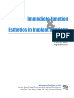 Immediate Function and Esthetics in Implant Dentistry