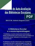 Apresentação - Modelo de Auto-Avaliação - PowerPoint
