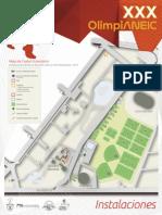 Mapa Olimpianeic Instalaciones