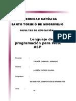 Lenguaje de programacion para Web