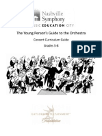 Curriculum Guide to Britten's Guide to the Orchestra