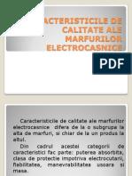 Caracteristicile de Calitate Ale Marfurilor Electrocasnice