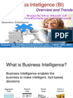 Business Intelligence and Its Importance Presented by Quontra Solutions