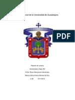 Historia Social de La Universidad de Guadalajara