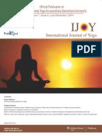 Effect of Bhramari Pranayama on Response Inhibition