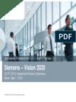 Siemens 2020 Vision