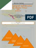 Tektonostratigrafi Dan Struktur Seram Bagian Timur
