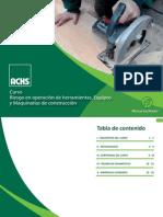 Manual Facilitador - Riesgo en Operación de Herramientas Equipos y Maquinarias de Construcción