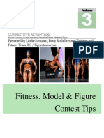 Bodybuilding Female Figure Contest Tips
