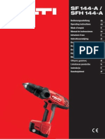 SF 144A CPC Drill Instruction Manual