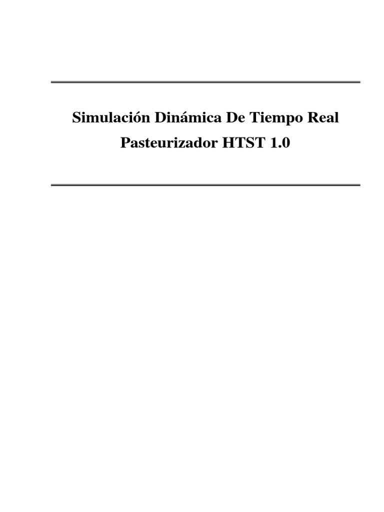 SIMULACIÓN DINÁMICA DE TIEMPO REAL. PASTEURIZADOR HTST 1.0.pdf