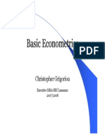 6 Basic Econometrics