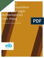 EIB Kantoren Metropoolregio Rotterdam en Den Haag 2013