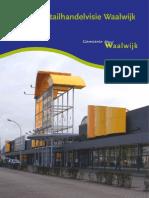 Waalwijk Analyse detailhandel 2012