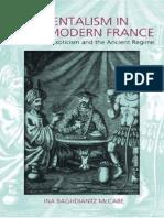 Bahdiantz,Orientalism in France