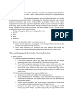 Prognosis Dan Faktor Yang Mempengaruhi Perawatan