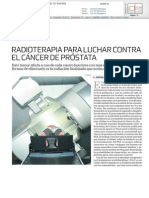 Radioterapia en la lucha contra el cáncer de próstata