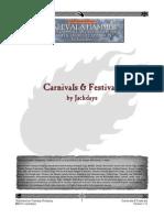 WFRP Carnivals Festivals