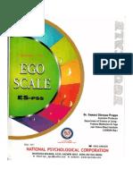 ego scale