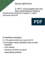 Ciroza Hepatica Martie 2013