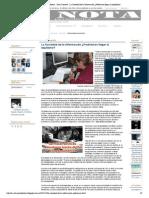 La Nota Periodística - Zona Creativa