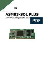 ASMB3-SOL PLUS Server Management Board