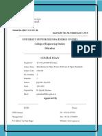 CoES Course Plan 2014_OSS