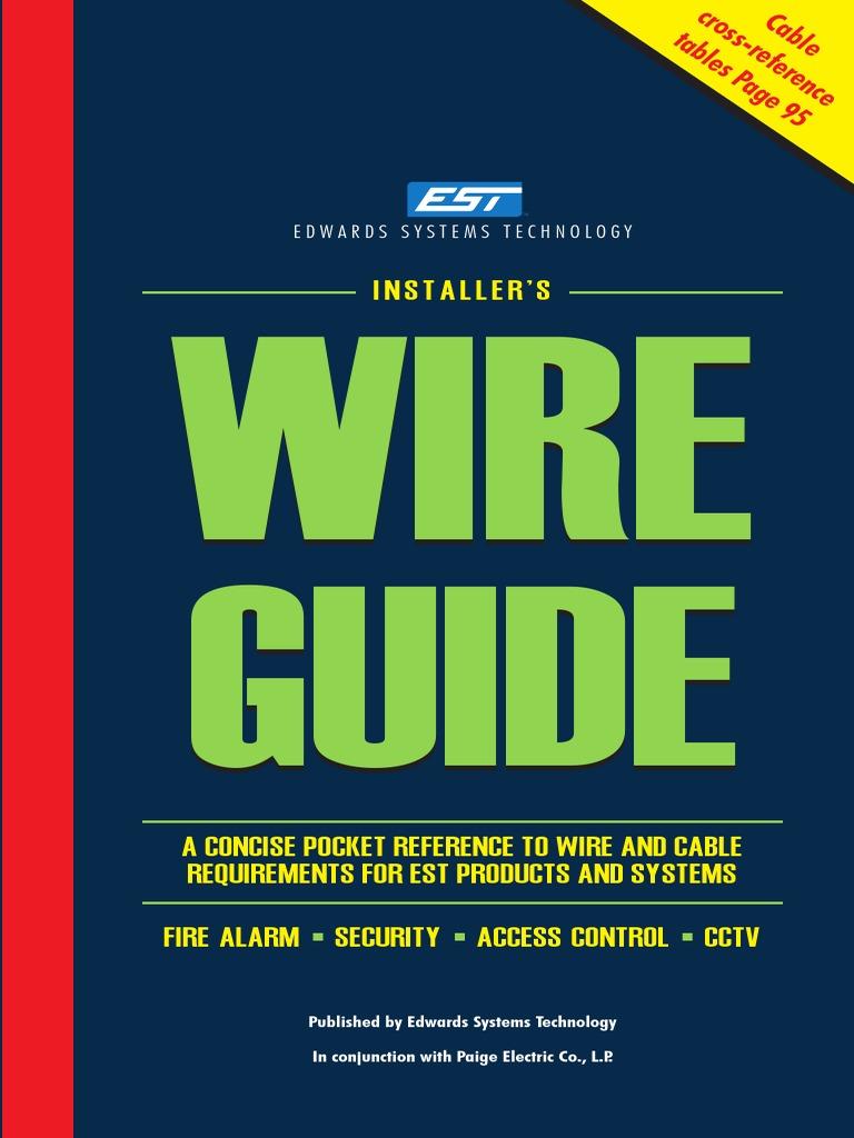 Est 3 Wire Guide | Computer Network | Amplifier