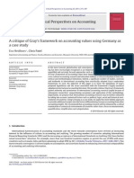 A Critique of Gray's Framework on Accounting Values Using Germany as a Case Study
