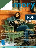 Alzheimer's Magazine - Preserving Your Memory - Winter 2009 Issue