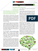 ERC Newsletter September 2014 - Research in the spotlight