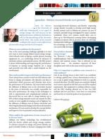 ERC Newsletter September 2014 - Interview with