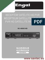 Rs4800hd Manual Es Savitec