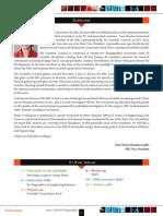 ERC Newsletter September - 2014 - Editorial