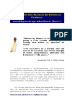 MODELO de AUTO-AVALIACAO Das BE - Metodologias de Operacionalizacao Parte I