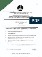 Trial N Sembilan 2014 SPM Prinsip Perakaunan K1