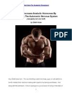 How to Increase Anabolic Hormones by Balancing the Autonomic Nervous System by Elliott Hulse