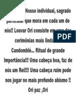 Orisá Ori
