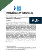 IMF-World Bank Policy, Critic