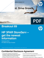 Breakout 69 - HP 3PAR StoreServ - Get the Newest Information - Hansjoerg Maier - Presented