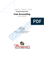 Cost Accounting B.N. Gaur